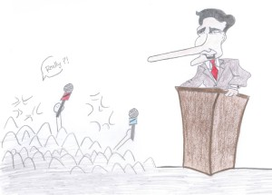 Opinion: Romney sways public with tall tales