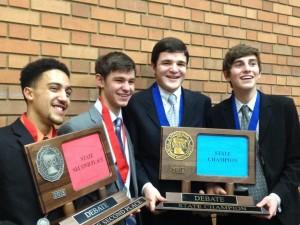 Spartan debate sweeps state tournament