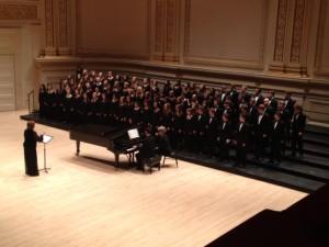 Upper School choirs wow crowds in Carnegie Hall