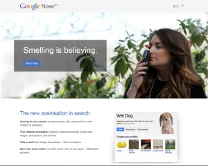 "Google ""Nose"" how to play an April Fool's joke"
