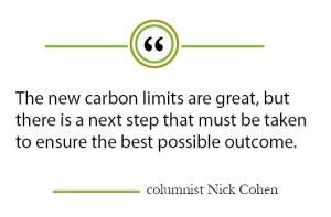 "Column: Carbon limits will help environment and economy, and even better if paired with a ""carbon tax"""