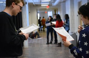Gallery: Students audition for senior-directed Winter One Acts