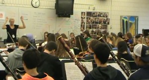 Pops Concert Preview: Academy Symphony and Honors Sinfonia practice Star Wars medley