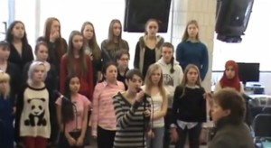 "Pops Concert Preview: Summit Singers rehearse ""Winter Song"" by Sara Bareilles and Ingrid Michaelson"