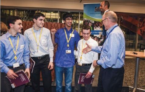 Academic WorldQuest team wins competition