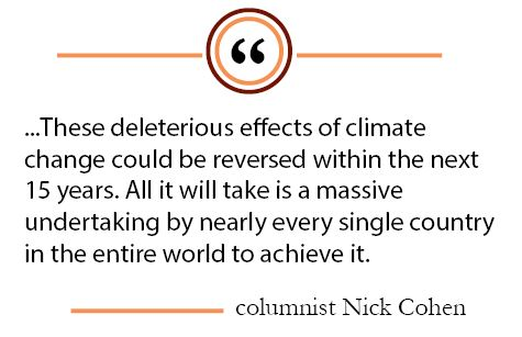 Column: Mitigation of climate change requires global cooperation