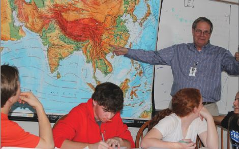 After 34 years of teaching Finch plans to see more of the world