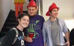 Students trick-or-treat in advisories
