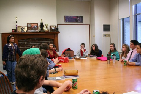 Intercultural Club, Common Ground, and Student Political Union facilitate a discussion on Ferguson