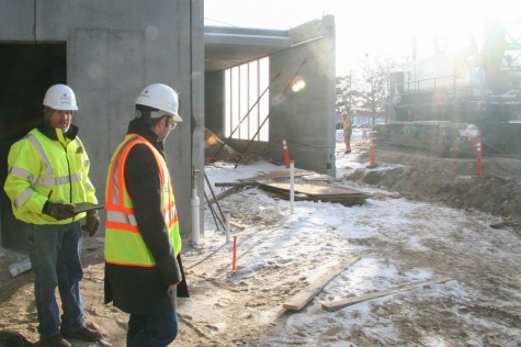 From the construction zone: A sneak peek of the new Huss Center of Performing Arts