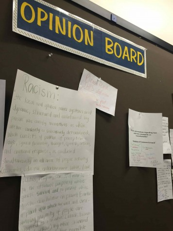 Opinion Board should reflect respect and tolerance for ideas