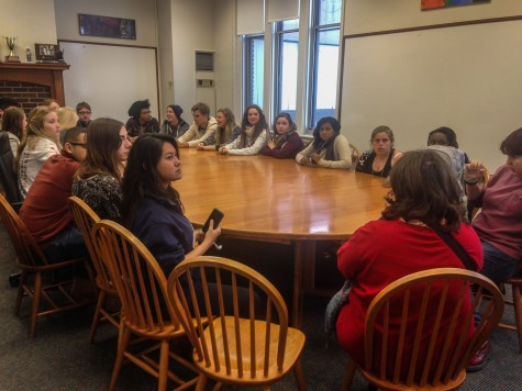 Cape Town students visit upper school, attend Thursday groups and classes