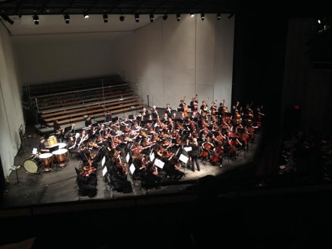 Large number of musicians provides challenge, spring concert succeeds