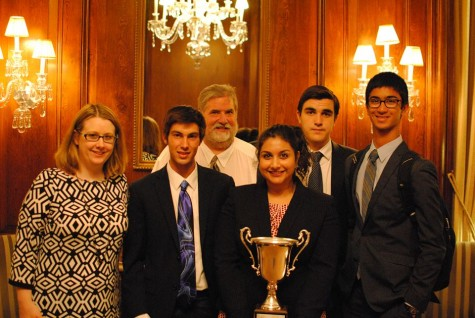 Four SPA debaters win second place in international debate tournament