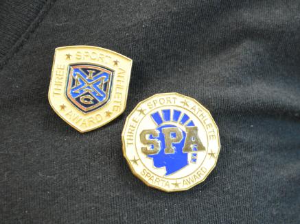 Sparta Award winners express appreciation for sports