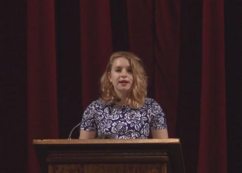 First three Senior Speeches take the stage