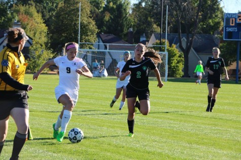In first girls soccer Homecoming Game, GVS gets draw against Hill-Murray
