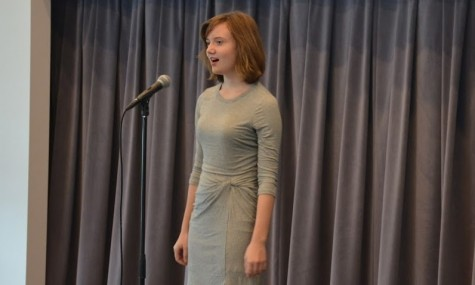 Poetry Out Loud winner announced after second round of recitations