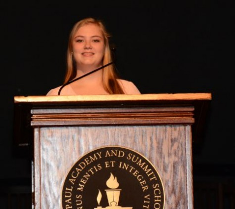 November's seniors describe important life experiences in speeches