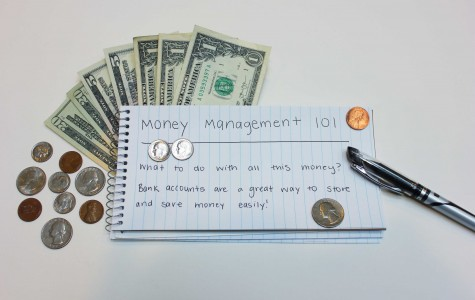 Students save with bank accounts