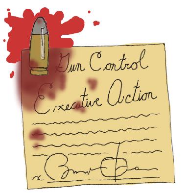 Obama's simple gun law grasps control of an unwieldy debate