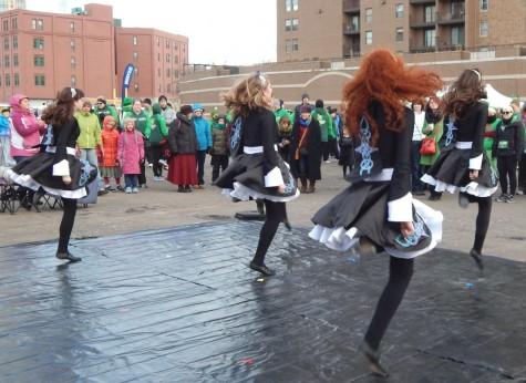 Pettigrew finds joy in Irish dancing