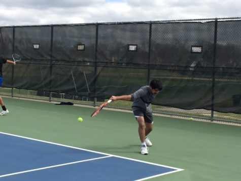 Young Boys Tennis team looks for great improvement throughout season