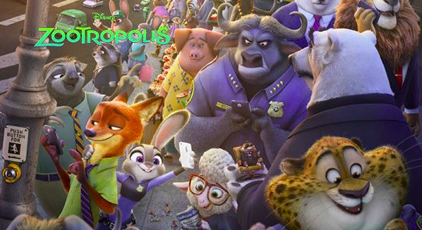 Zootopia follows the story of officer Judy Hopps, the first bunny to become a police officer.