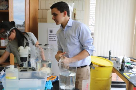 Seeing Green: Students and faculty strive to decrease school's adverse impact on Earth
