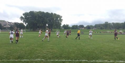Girls Varsity Soccer falls to South St.Paul in home opener