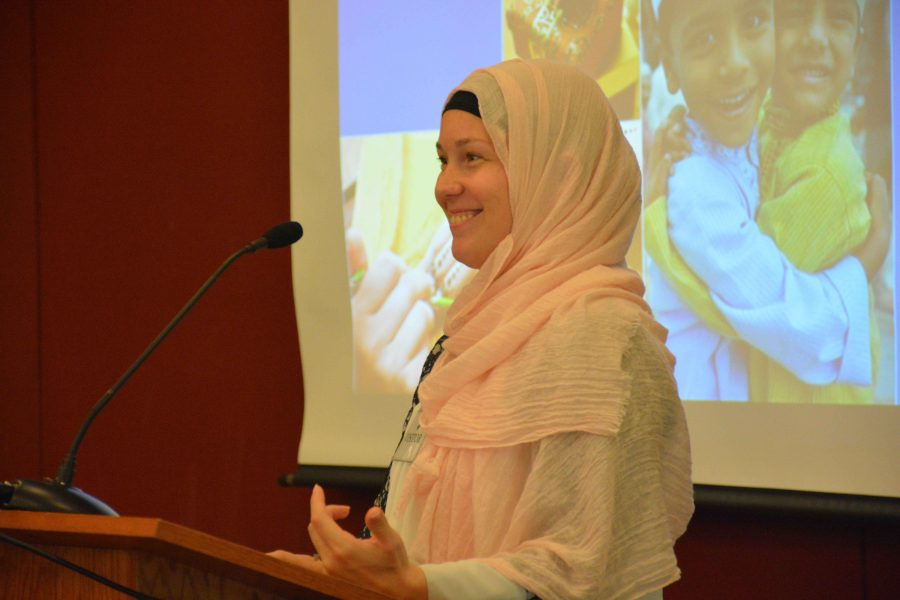 MSA speaker informs students about Islamic culture