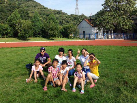 Community Service Spotlight: Chen teaches children English in China