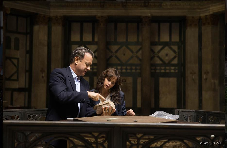 In his newest movie, Inferno, Tom Hanks plays Professor Langdon who searches around the world for clues in the hopes to prevent over population.