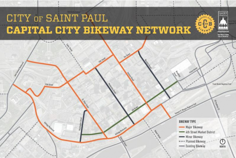 Plans for new bikeway in St. Paul unveiled