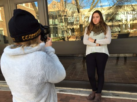 Senior Maya Edstrom shares photography project after election