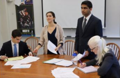 Debaters prep for home tournament for national qualification