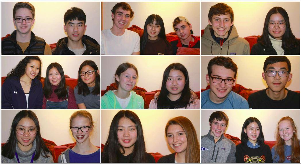 Fifteen Chinese students are taking part in an exchange with SPA students.