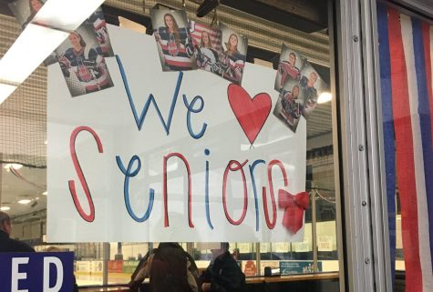 United GVH celebrates senior night, hopeful despite loss to Breck