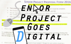 Senior Project process moves to technological format
