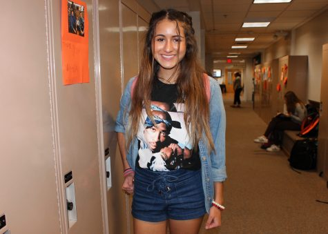 Street Style: Denim and graphic prints dominate student outfits