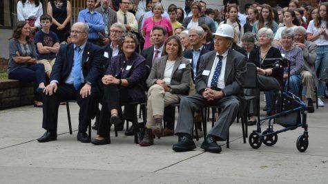 Schilling Center Groundbreaking Ceremony excites students