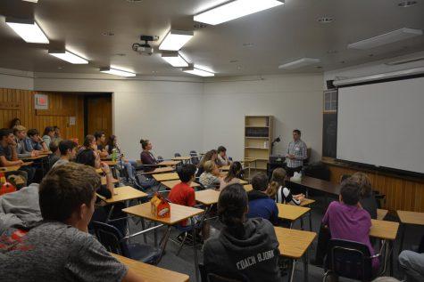 Alumnus Matt Hancher promotes passion and hard work