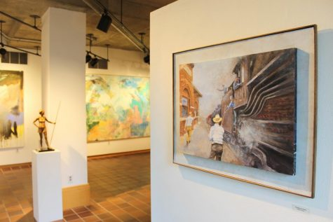 Alumni/ae exhibit hosts eclectic diplay