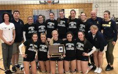 Girls Varsity Volleyball beats Providence Academy in IMAC championship