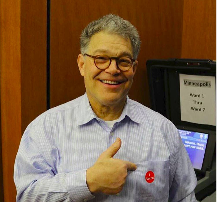 Minnesota+state+Senator+Al+Franken+was+recently+accused+of+sexual+assault+against+two+women.