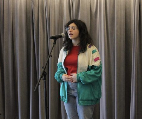 Zelle prepares for state Poetry Out Loud competition