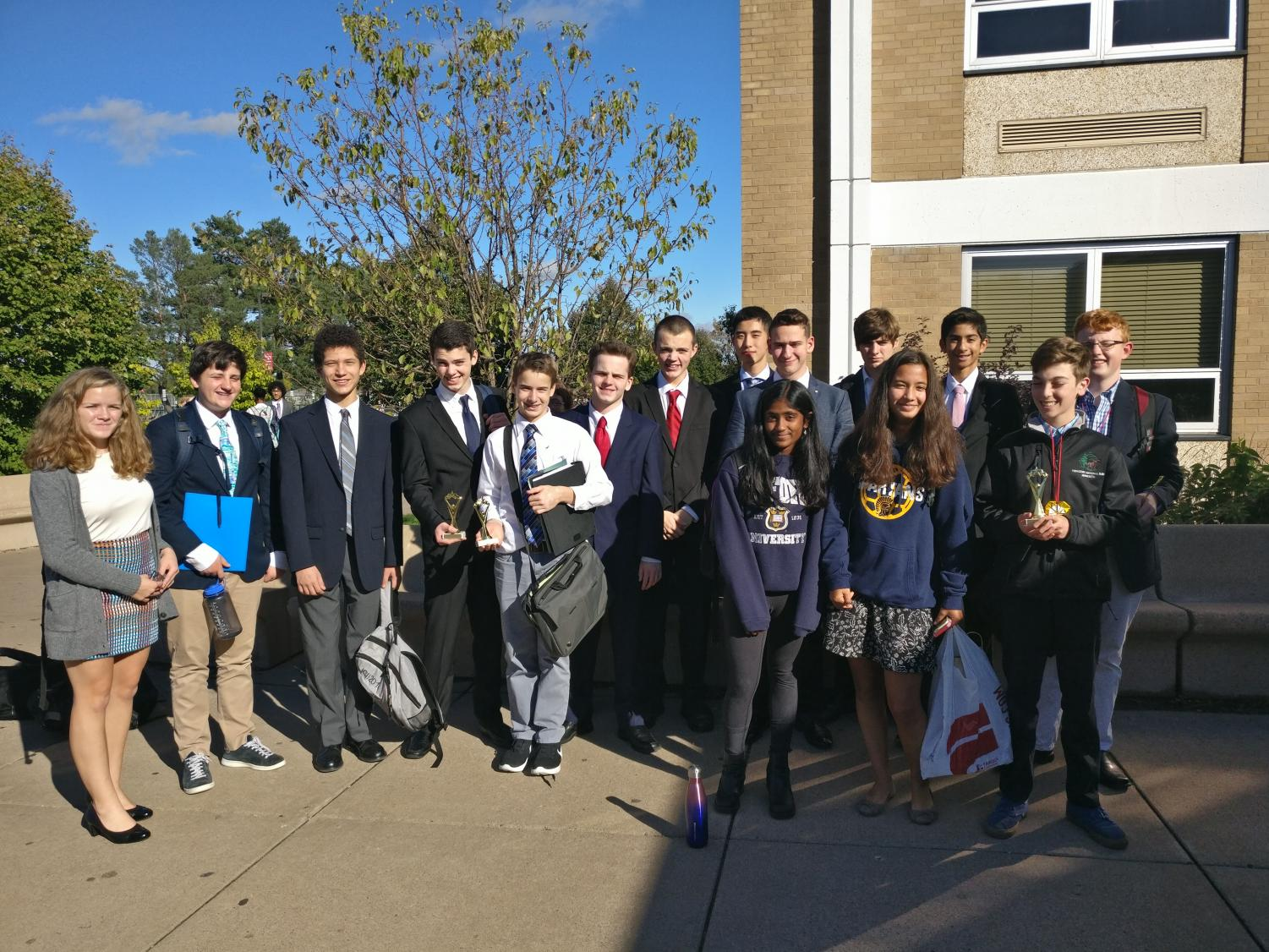 On Dec. 9, twelve SPA students will go to Debate National Qualifiers.
