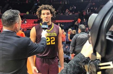 Gopher's basketball center Reggie Lynch has been under investigation for sexual assault charges dating from April 2016, and has been suspended and recommended for expulsion.