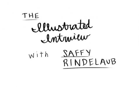 [Illustrated Interview] Rindelaub expresses fears, family and favorites