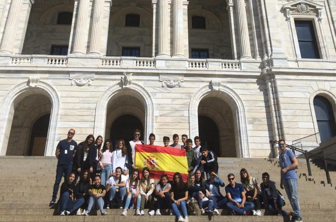 SPA students will reunite with their Spanish exchange partners who visited Minnesota last fall.